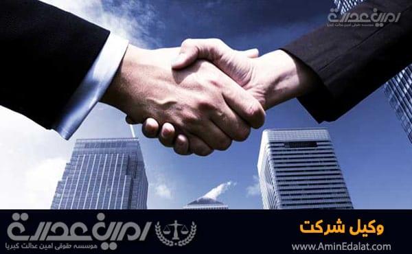 وکیل شرکت